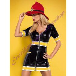Firegirl - szexi tűzoltó jelmez
