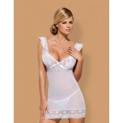 Obsessive Julitta fehér hálóruha