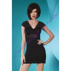 Accalia fekete hálóruha - L/XL