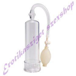 Erekciópumpa - víztiszta