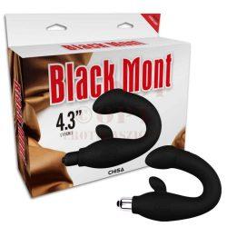 Black Mont szilikon prosztata masszőr