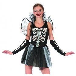 Női csontváz jelmez - 38 méret