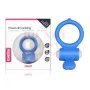 Power Clit vibrációs gyűrű - kék