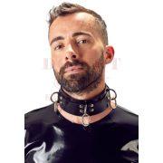Latex fém gyűrűs nyakörv