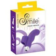 Smile Finger - lila szilikon ujjvibrátor