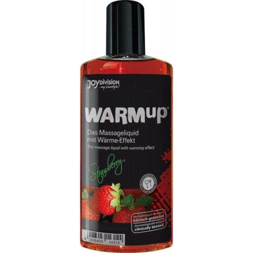 Warm up masszázsolaj - eper 150 ml