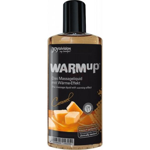 Warm up karamellás  masszázsolaj - 150 ml