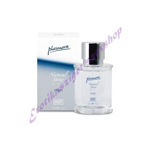 HOT natural spray férfiaknak - 50 ml