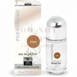 Feromonos férfi parfum 15 ml – Shiatsu