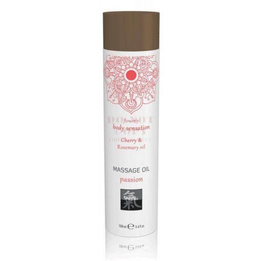 Passion luxus masszázsolaj - cseresznye & borsmenta olaj