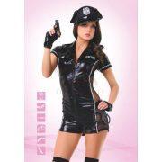 LeFrivole 6 részes rendőrnő jelmez szett