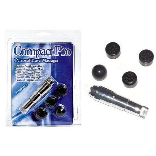 Compact pro mini masszírozó - ezüst