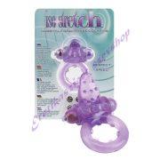 Tüskés lila péniszgyűrű - vibrációs