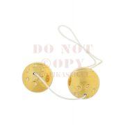 Arany gésagolyó párban