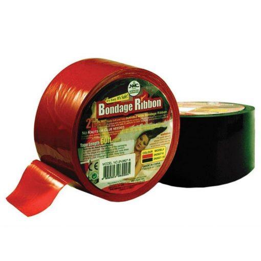 Fetish bondage tape - piros szalag
