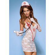 Medica dress - nővér jelmez S/M