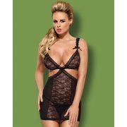 Swanita fekete chemise - L/XL