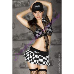 Rally Girl kockás jelmez - S/M