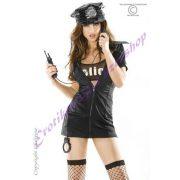 Chilirose rendőrnő jelmez - S/M