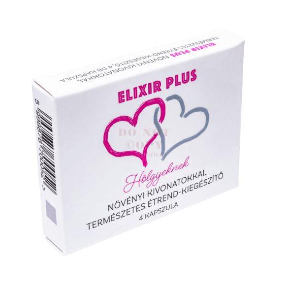 Elixir vágyfokozó kapszula nőknek - 4 db