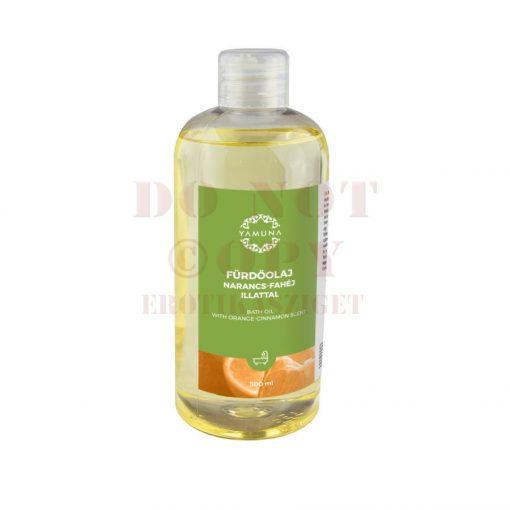 Fürdőolaj narancs-fahéj illattal - 500 ml