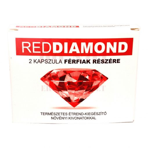Red Diamond kapszula férfiaknak - 2 db
