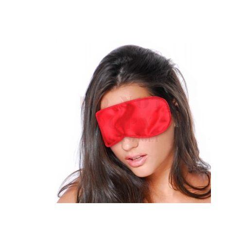 Piros szatén szemkötő
