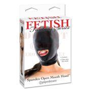 Fetish fejmaszk szájnyílással
