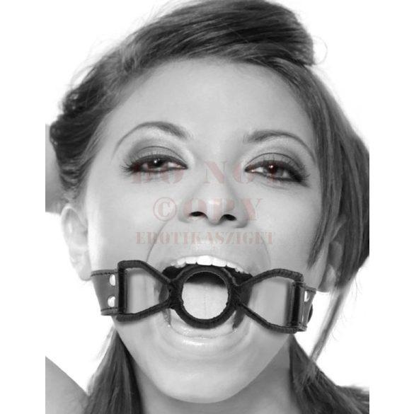 Állítható fekete szájfeszítő
