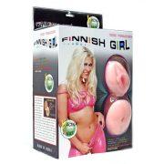 Finnish Girl Guminő - élethű vaginával és ánuszzal