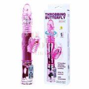 Pillangós forgó -fel-le mozgó vibrátor - tölthető