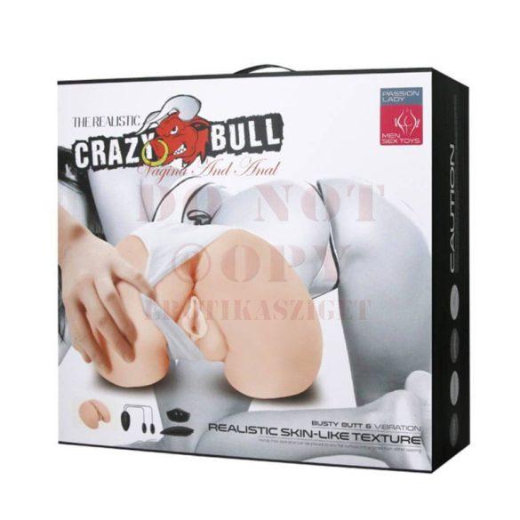 Crazy Bull kívánatos popsi - vagina és ánusz