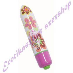 Virágmintás csiklóizgató vibrátor