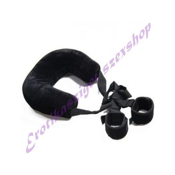 Nyakpántos pozíciótartó kötöző - fekete