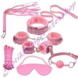 Rózsaszín kötöző szett - 10 részes