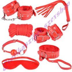Piros kötöző szett - 10 részes